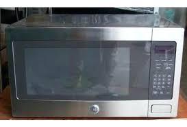 profile microwave stainless steel peb76sf2ss ge countertop 22 cu ft 1100 watt slate 2