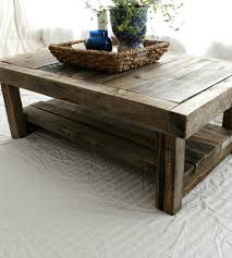 Reclaimed Barnwood Coffee Table | Reclaimed Barn Wood From Northern Georgia  Finds New Life In Th Ideas