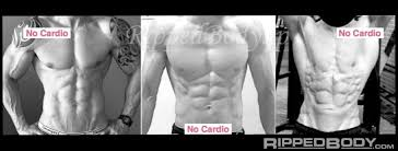 three shredded physiques obned without any cardio ripped body