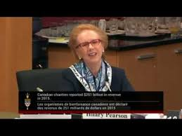 PFC President Hilary Pearson testifies before Special Senate Committee on  Charitable Sector 1 - YouTube