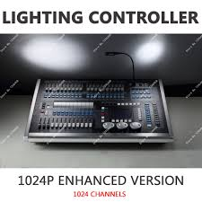 dmx512 1024p light console midi trigger sound light synchronization advanced grouping stage lighting controller 120 dimming high quality dmx 1024 china