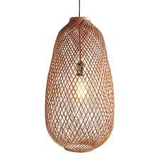 Pier 1 Pendant Lights Woven Rattan Pendant Lamp In 2019 Pendant Lamp Pendants