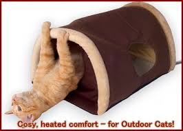 heated beds for outdoor cats