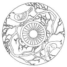Free Printable Animal Mandalas Coloring Pages Get Coloring Pages