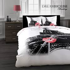 Black White And Pink Paris Bedding 10 Stunning Eiffel Tower Paris Themed  Bedding Sets