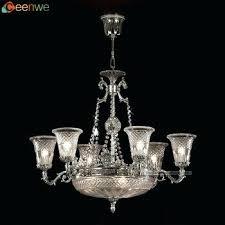 9 light crystal chandelier 9 lights silver antique brass vintage crystal chandeliers gria 9 light crystal