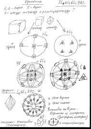 Геометрическая кристаллография Теория и практика Решение   Практические контрольные задания · Решение контрольных