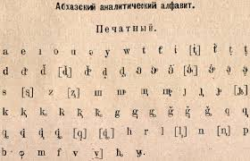 By using ipa you can know exactly. Abkhaz Alphabet Wikipedia