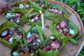 บุญเดือนสิบหรือบุญข้าวสากหรือสลาก ข่าวกิจกรรม ทต.อ่างศิลา อ.พิบูลมังสาหาร  จ.อุบลราชธานี - angsila.go.th