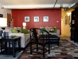 Red Living Room Rug Gold Mirror Wallpaper Brass Fireplace Art Greek Key Formal Living