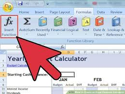 Finance Excel Functions How To Create An Excel Financial Calculator 8 Steps