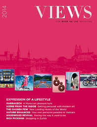 Views 2014 The Baur Au Lac Magazine By Cinnamon Circle Issuu