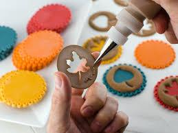 Easy Fall Leaf Cupcake Toppers Semi Sweet Designs