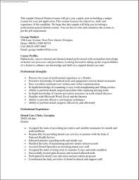 Ideas Of Dentist Resume Objective Dentist Resume Resumes General