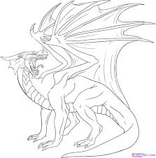 Coloring Page : How To Draw A Drago Dragon 16 Coloring Page How To ...