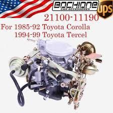 NEW CARB CARBURETOR ENGINE FIT 1985-1999 TOYOTA COROLLA TERCEL 2E ...
