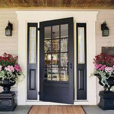 Doors Windows Front Entry Doors With Sidelights Fiberglass