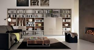 contemporary library furniture. Cozy Contemporary Home Library Designs Hominic Furniture S
