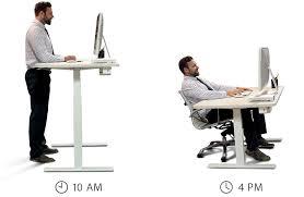 office desk standing. Plain Standing In Office Desk Standing