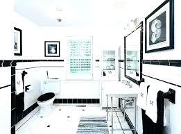 Pink And Black Bathroom Black White Pink Bathroom Decor Ideas Bath
