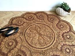 round sisal rug round sisal rugs ornate jute rug bohemian woven area straw cleaning service round round sisal rug