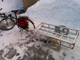 my home made bike trailer the ottawa