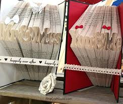 diy folded book art how to fold book pages into letters recycled book art ideas diy diy folded book art