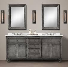 zinc double vanity restorationhardware com catalog