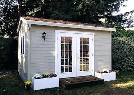 Outdoor Office Shed The Shop Home Garden Storage