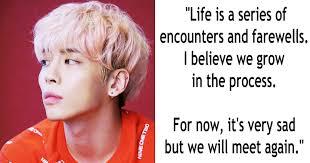 10 Inspiring And Moving Quotes By Shinee Jonghyun Koreaboo