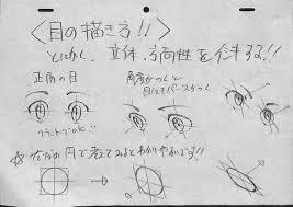 アニメ私塾 目の描き方まとめ