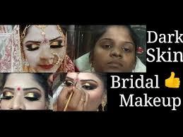 dark skin पर क स कर bridal makeup