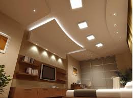 modern bedroom lighting design. Bedroom:Casual White Ceiling Lighting Ideas For Cool Bedroom With Wooden Wall Bookshelf And Square Modern Design
