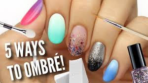 Omber Nail Design 5 Ways To Get Ombre Gradient Nails