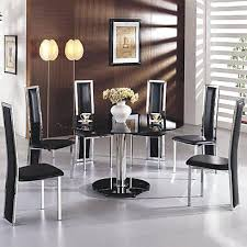 6 round dining table