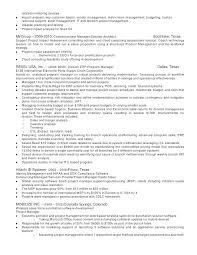 Project Management Resumes Sample Resumes For Project Managers