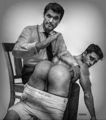 White man spank black twink humiliation