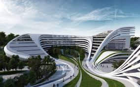 architectural buildings in the world. Zaha Hadids Plan For The Redevelopment Of A Disused Factory In Modern Architectural Buildings World .