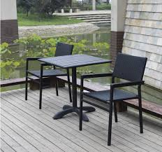 modern patio furniture. Modern Outdoor Furniture Metal Frame Wicker/rattan/outdoor Wood FC609+FT817 Patio