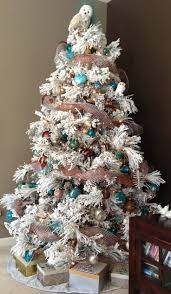 Flocked Christmas Tree Best 20 Flocked Christmas Trees Ideas On Pinterest Artificial