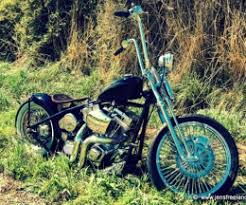 harley davidson old school bobber motorcycle build by 36kings