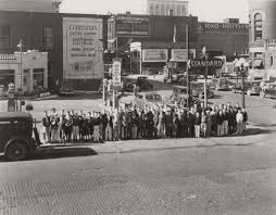 Images 2 home office radio museum collection Decor Group Of Boys Standing In Front Of The Standard Gas Station With Rko Keiths Theatre In Pin By Grnowcom On Grand Rapids History In 2018 Pinterest