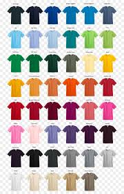 Gildan Color Chart 2019 Color Background Png Download 810 1396 Free Transparent