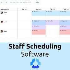 Shift Planning App 7 Best Staff Scheduling Software Images Management Software