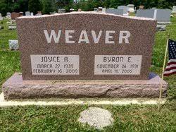 Col Byron E Weaver (1931-2006) - Find A Grave Memorial