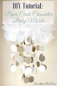 diy chandelier 10 diy chandelier baby mobile