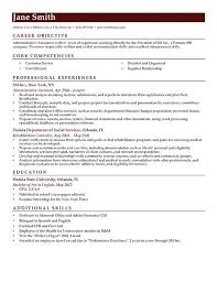 Objective Of Resume For Internship How to Write a Career Objective 100 Resume Objective Examples RG 19