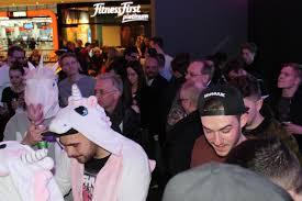 impressionen von der eröffnung des bigcitybeats world club dome popup im pingcenter myzeil
