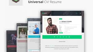 Cv Website 15 Material Design Resume Templates For The Perfect First