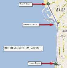 Tide Chart Redondo Beach California Redondo Beach Bike Path Southern California Beaches